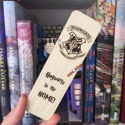 Harry Potter Ahşap Ayraç...