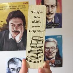 Okumak Ahşap Ayraç...